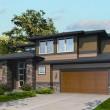 casa estilo oriental, casa con garaje