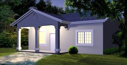 Porch planos de casas gratis for Casas sencillas y economicas