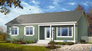 Casa sencilla planos de casas gratis for Casa de una planta sencilla