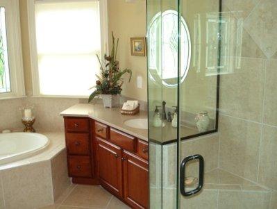 diseño de baño de casa de campo, baño 2012, diseño de baños, baños modernos
