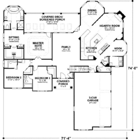 additionally cb f    a        large single story log homes single story log home floor plans together with bedroom   bath house plans together with  additionally village house. on small ranch house plans