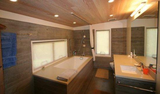foto de baño de cabaña, imagen de baño, baño moderno, fotografía de baño