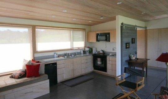interior cabaña, foto cocina cabaña, interiores de cabaña