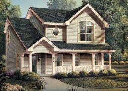fachada casa pequeña
