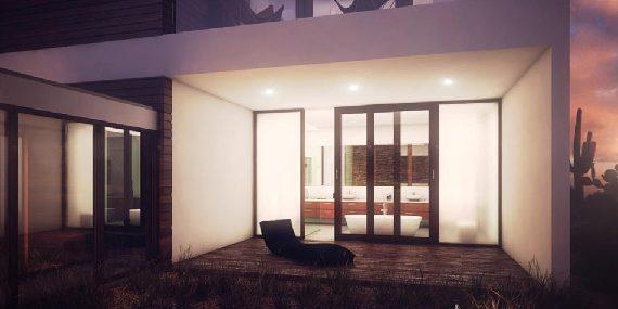 diseño casa 3 dormitorios