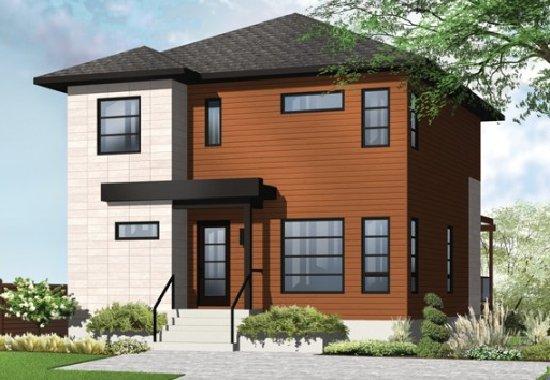 3 dormitorios planos de casas gratis for Casas modernas 3 pisos