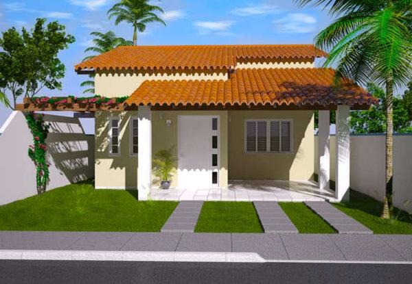 fachada casa familiar